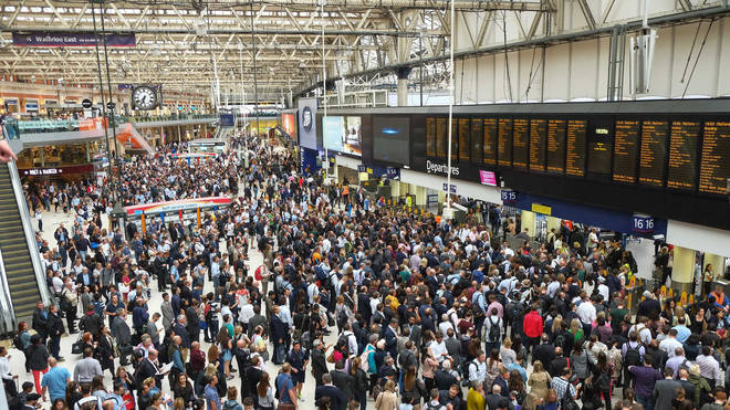 Train companies have urged passengers only to travel if it's necessary