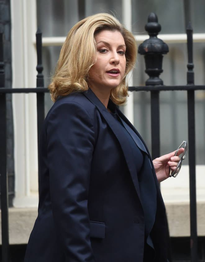 Penny Mordaunt the former Defence Secretary