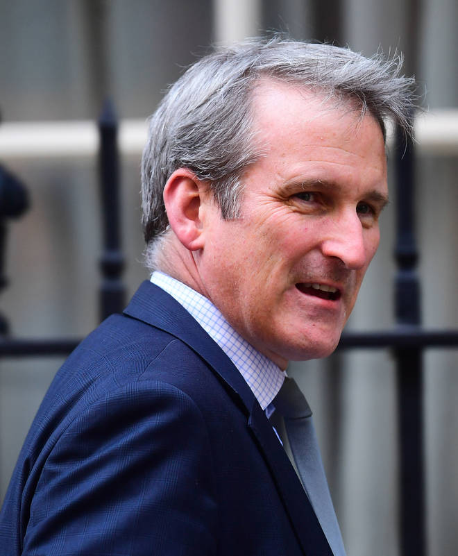 Damian Hinds the former Education Secretary