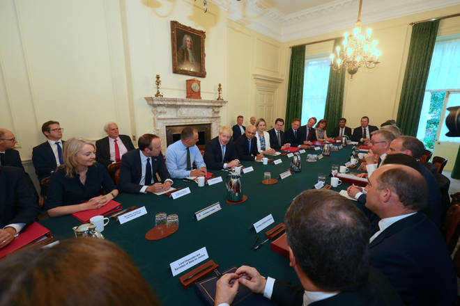 Boris is holding his first new Cabinet meeting - but which ministers didn't make the cut?