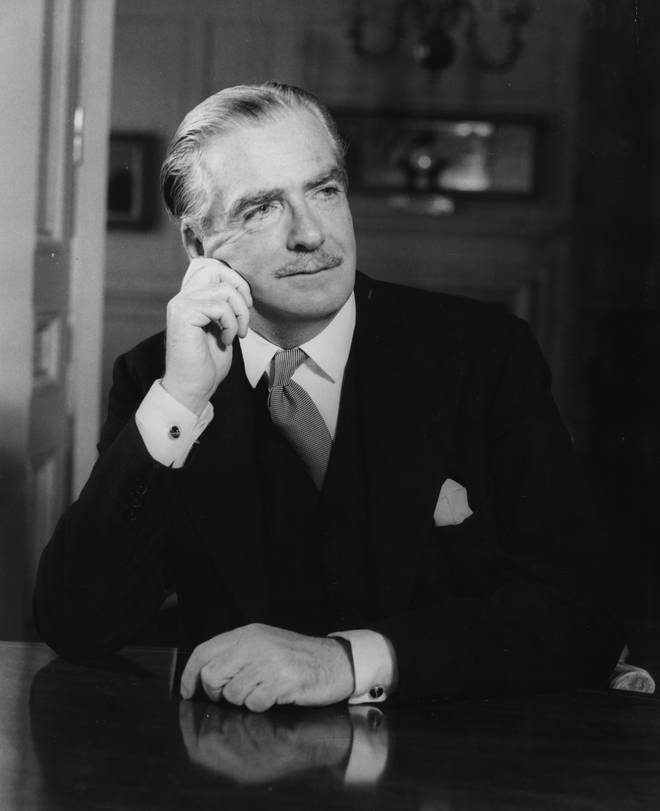 Sir Anthony Eden was Prime Minister between 1955-1957