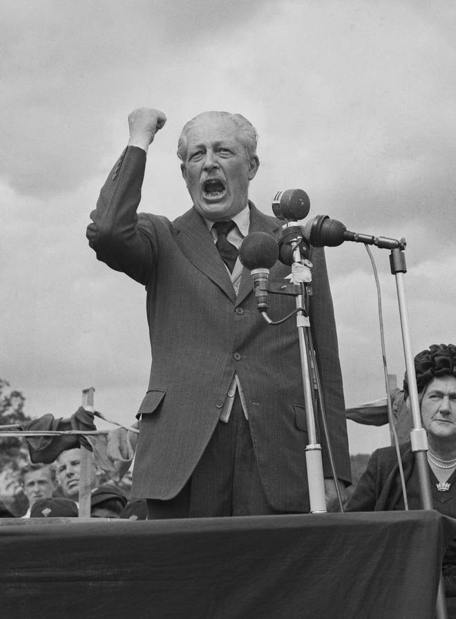 Harold Macmillan served as PM between 1957 and 1963