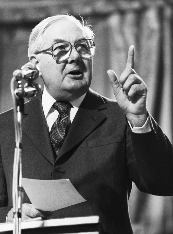James Callaghan was at No 10 between 1976-1979