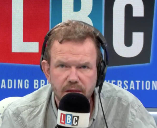 James O'Brien was discussing new Prime Minister Boris Johnson