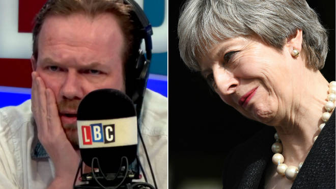 James O'Brien had harsh words for Theresa May