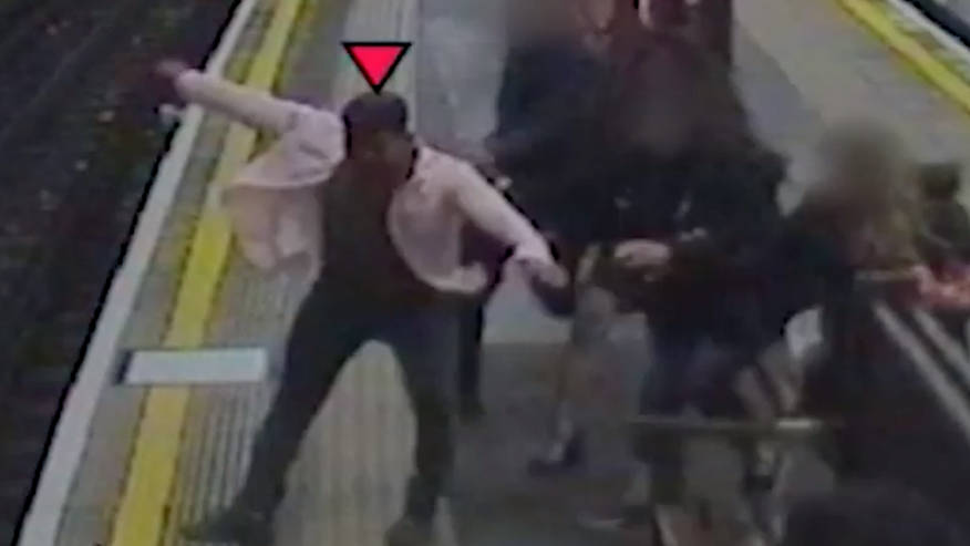 Watch The Shocking Moment Passenger Is Shoved On To Live Tube Tracks