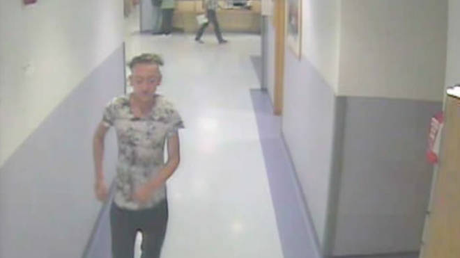 CCTV from inside the hospital