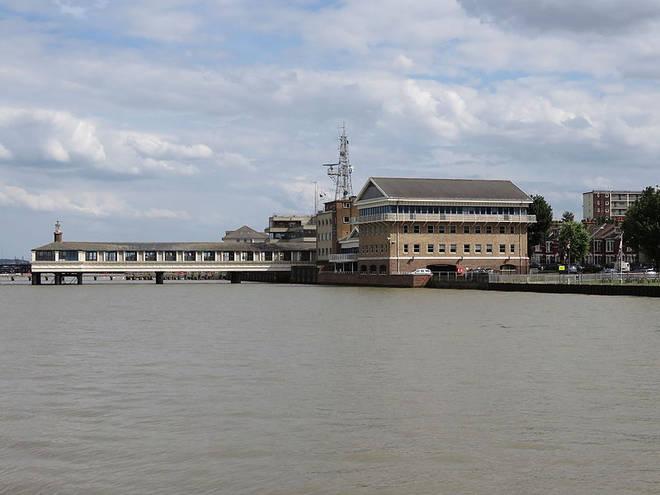 Gravesend Pier