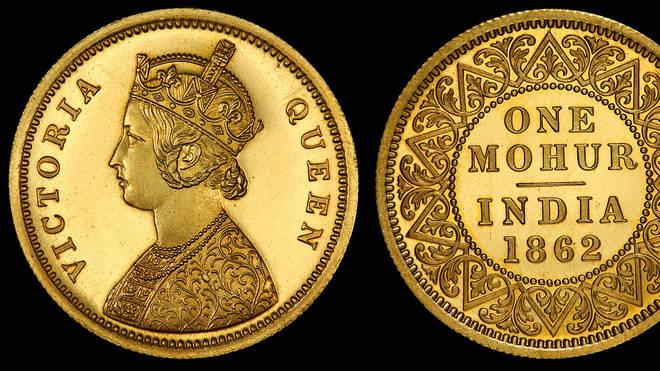 Queen Victoria facing left