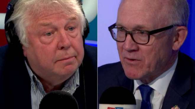 Nick Ferrari spoke to US Ambassador Woody Johnson
