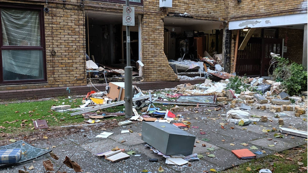 At Least Three Injured In Tooting Explosion As Flat Destroyed