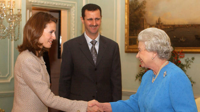 President Assad with The Queen