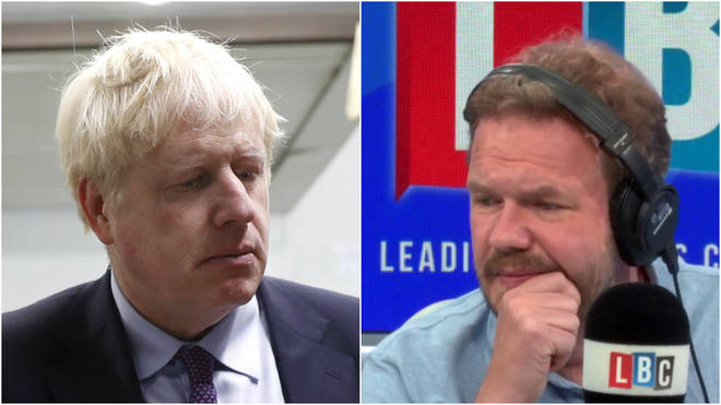 "James O&squot;Brien said Mr Johnson looked ""rattled"""