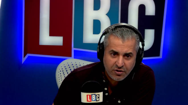 Maajid Nawaz takes on caller who wants to bring back death penalty.