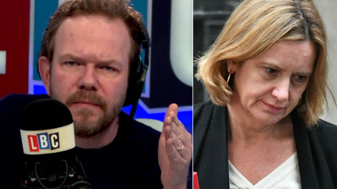 James O'Brien spoke passionately about Amber Rudd