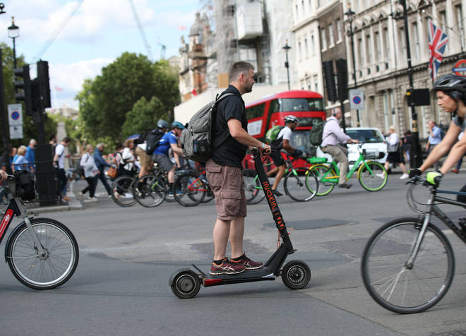 Electric scooter London government review