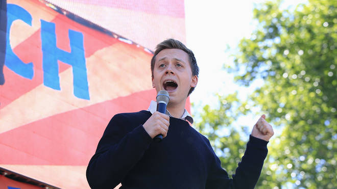 Owen Jones laughed off the Russian bot claims