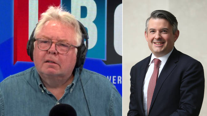 Nick Ferrari clashed with Jonathan Ashworth