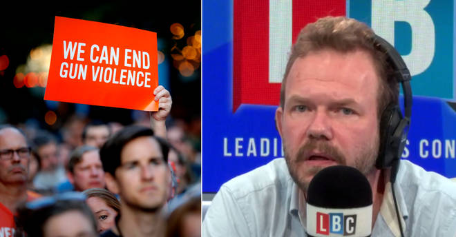 James O'Brien made a powerful point on gun violence