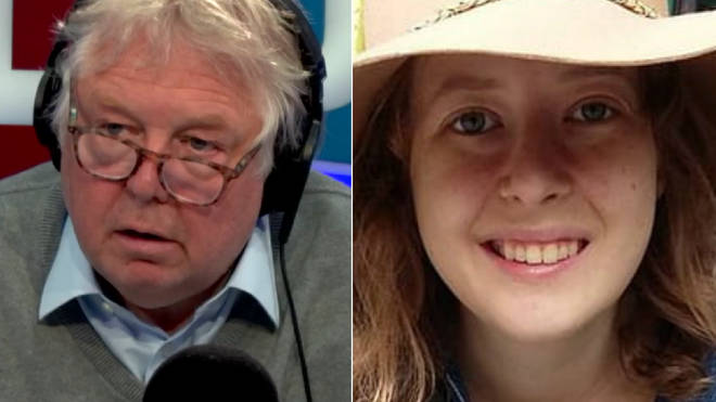 Nick Ferrari spoke to Tamsin Parker