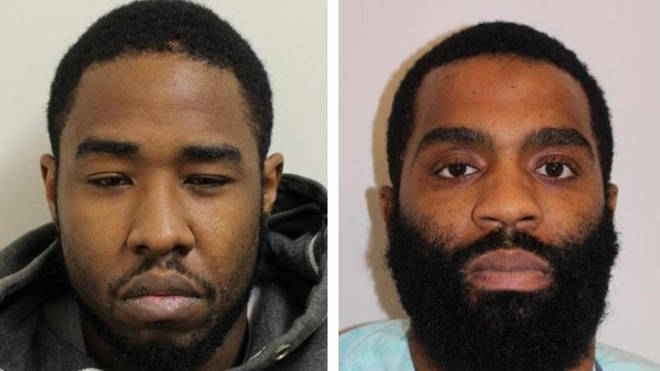 Nyrome Hinds and David Sterling have both been jailed.