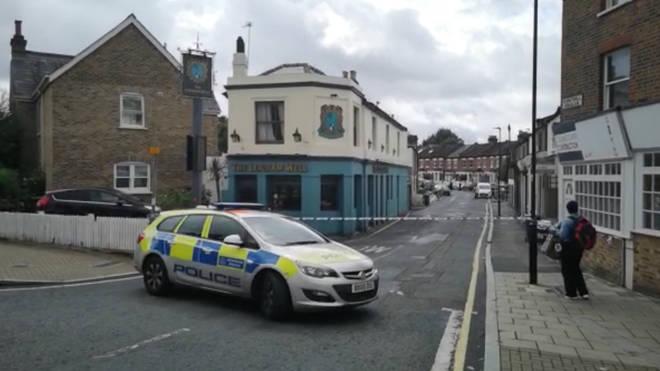 The Scene in Wellfield Road, Streatham