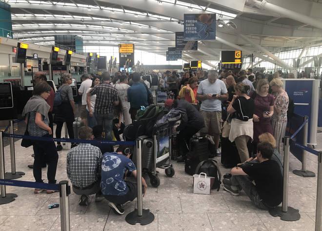 Delays at Heathrow in July