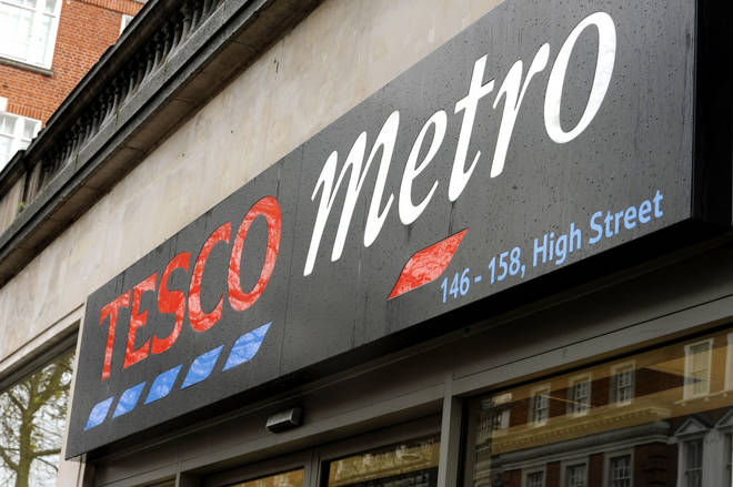 Tesco Metro store in central London