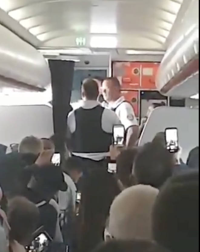 "EasyJet flight diverted due to ""violent"" passengers&squot; ""aggressive"" behaviour"