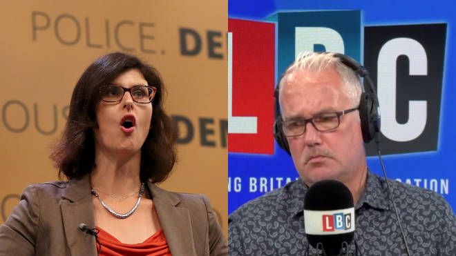 Eddie Mair was speaking to Lib Dem MP Layla Moran