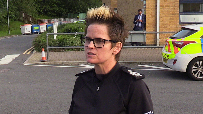 police commissioner defends senior whaley bridge cop after