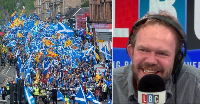 Listeners loved James O'Brien's Scottish caller
