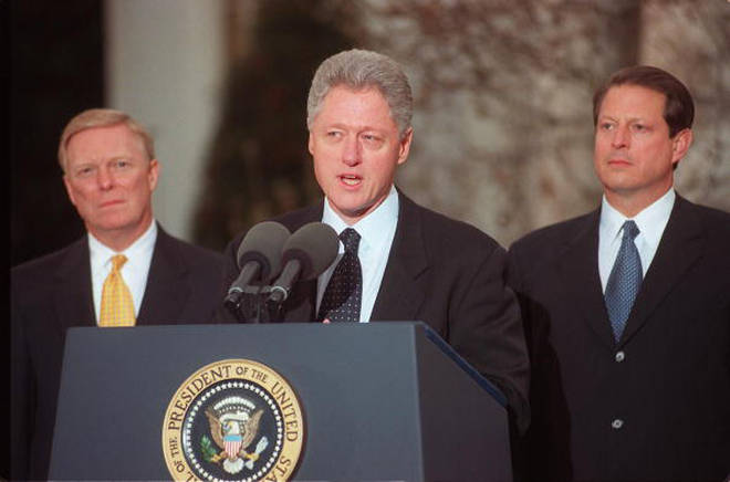 Bill Clinton's impeachment is the subject of American Crime Story 3