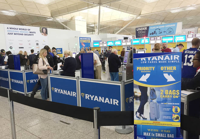 Thousands of Ryanair passengers' travel plans will be disrupted by strike action