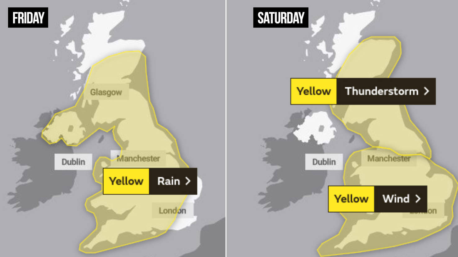 UK Weather Forecast: Britain To Be Battered By Storms And 50mph Winds