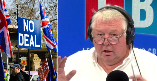 Nick Ferrari rowed with this caller over the effects of a no-deal Brexit