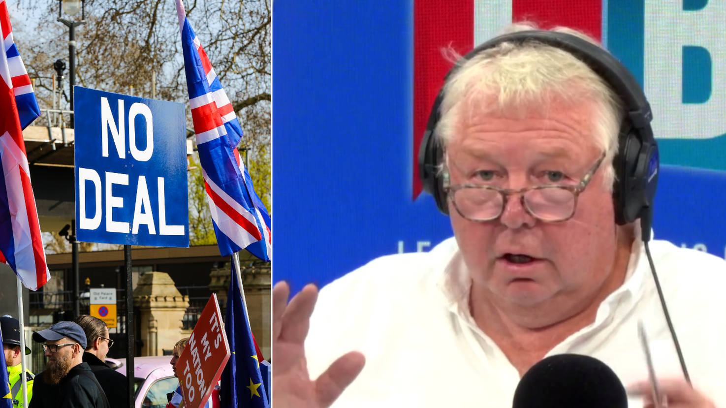 Nick Ferrari's Withering Response To Caller Scaremongering Over No-Deal Brexit