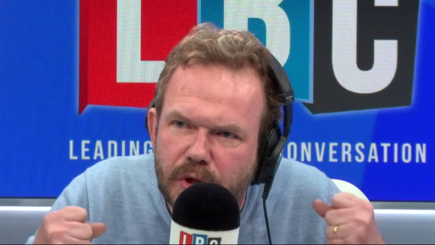 """James O'Brien's Caller Says No-Deal Brexit Will Be Fine Because Of """"British Bulldog Spirit"""""""