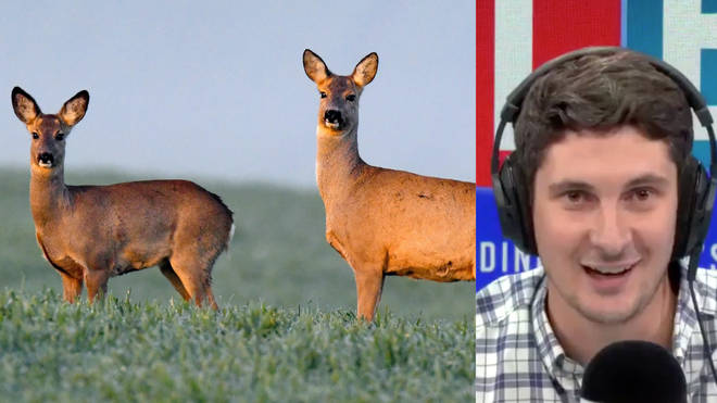 The caller spoke to Tom Swarbrick fresh from killing a deer