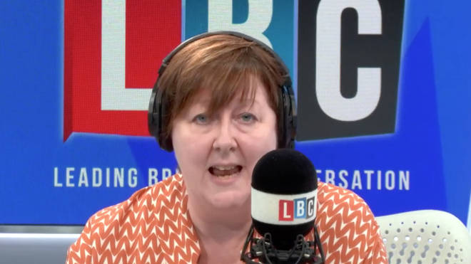 Shelagh Fogarty was able to instantly prove the caller wrong.