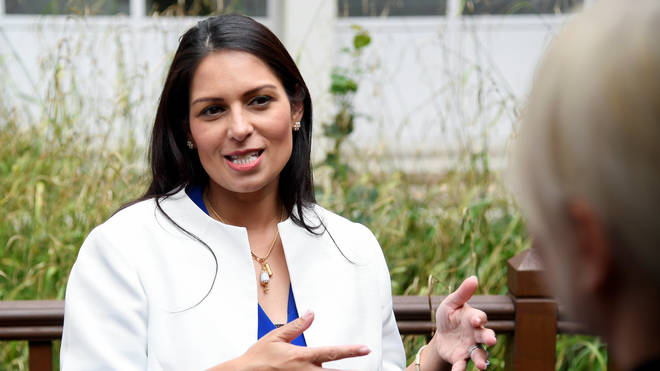 "Home Secretary Priti Patel said offenders ""should be fearful"" of committing crimes"