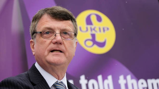 Gerard Batten stood down after Ukip's poor European election performance