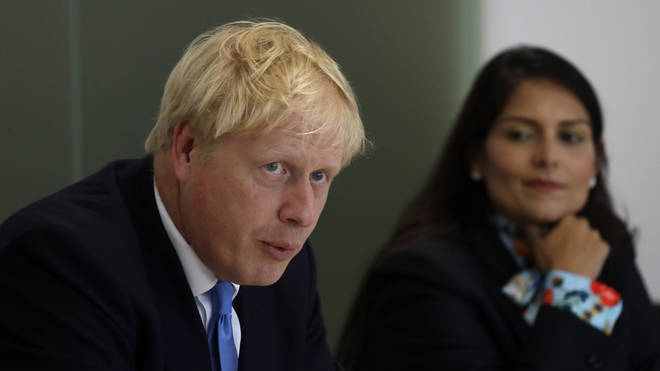 Prime Minister Boris Johnson and Home Secretary Priti Patel have announced tougher policing to combat knife crime