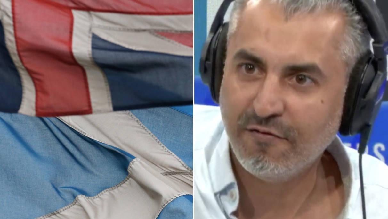 Maajid Nawaz Pleads With Scotland Not To Break Away From United Kingdom
