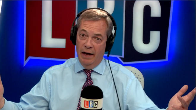 Farage in studio