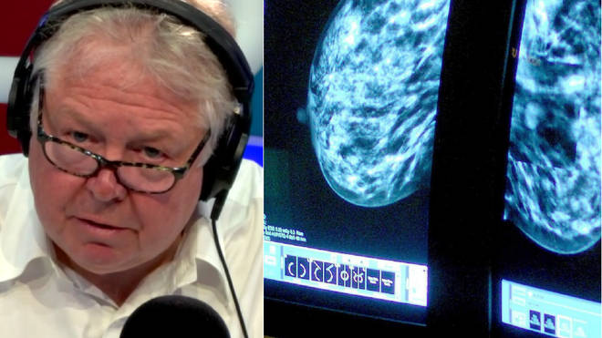 Nick Ferrari grilled Public Health England over the failure on breast cancer screening