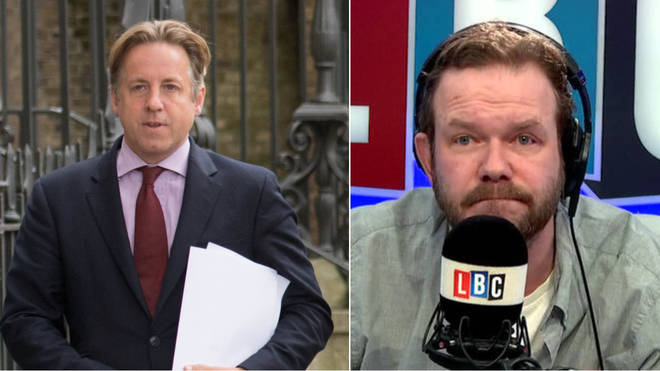 Marcus Fysh called James O'Brien to debate Brexit