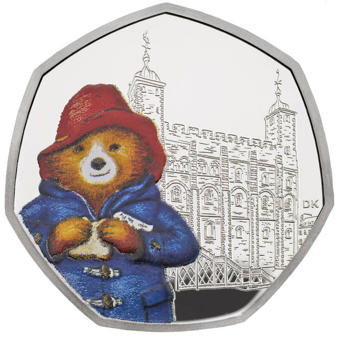 One coin sees Paddington outside the Tower of London