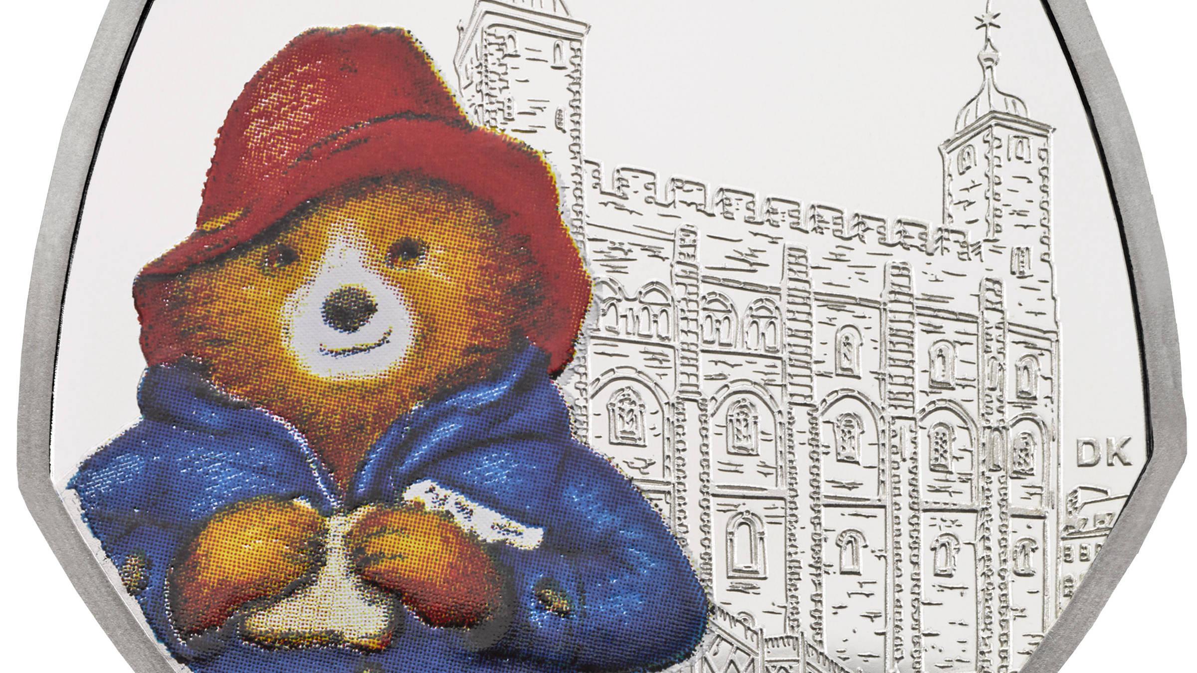 Paddington Bear Features On New 50p Coins