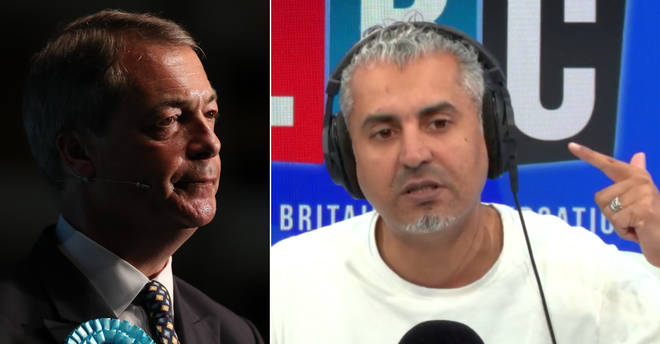 Maajid Nawaz was surprised by the Guardian's take on Nigel Farage